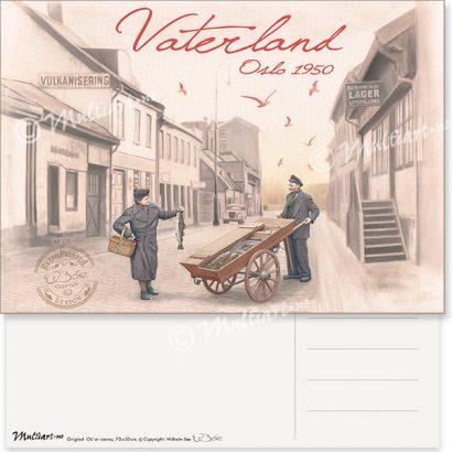 Postkort, Vaterland i Oslo
