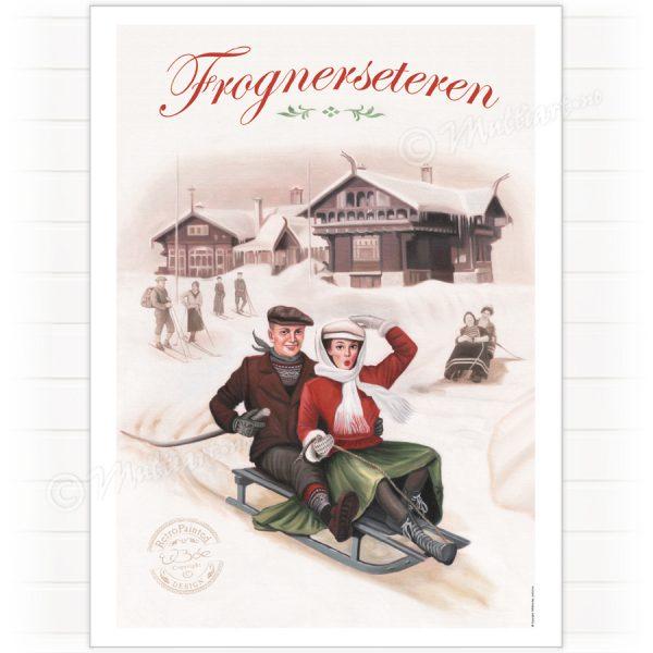 Poster, Frognerseteren in Oslo, Norway