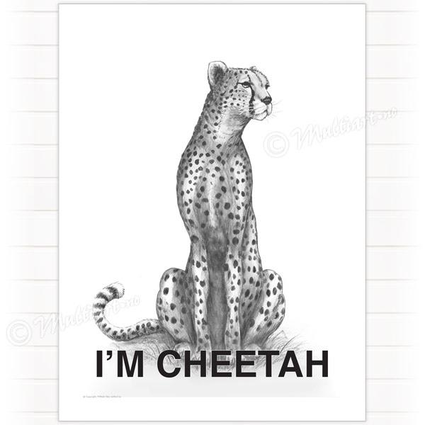 Poster, Cheetah Geopard