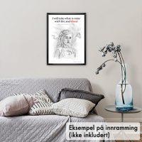 Poster, Daenerys Targaryen – Game of Thrones