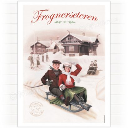 Poster, Frognerseteren in Oslo, Norway