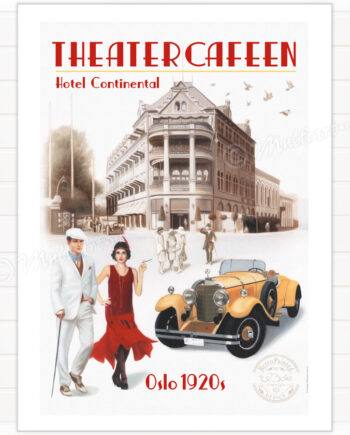 Poster, Theatercafeen in Oslo
