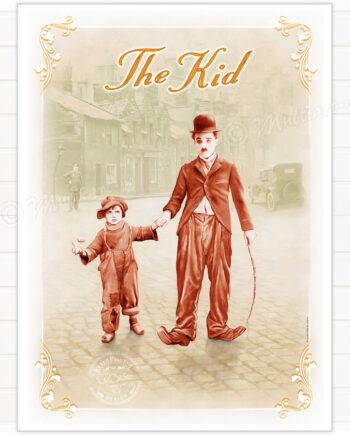 Poster, The Kid, Charlie Chaplin