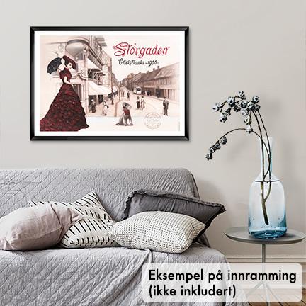 Plakat, Storgata i Oslo