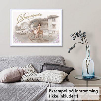 Plakat, Damstredet i Oslo