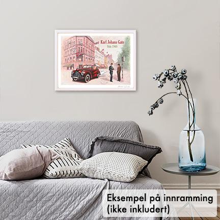 Plakat, Karl Joahns Gate i Oslo