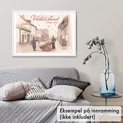 Plakat, Vaterland i Oslo
