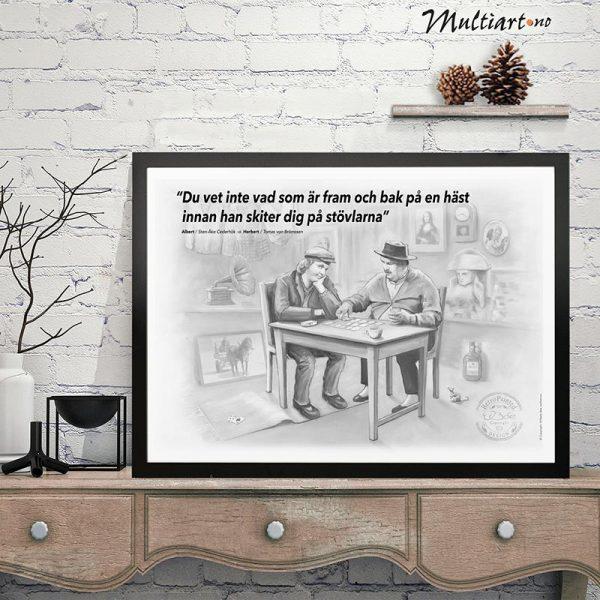 Plakat, Albert & Herbert