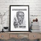 Poster, Clint Eastwood karikatur – Gran Torino