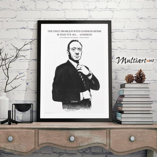 Frank Underwood – House of Cards- poster plakat