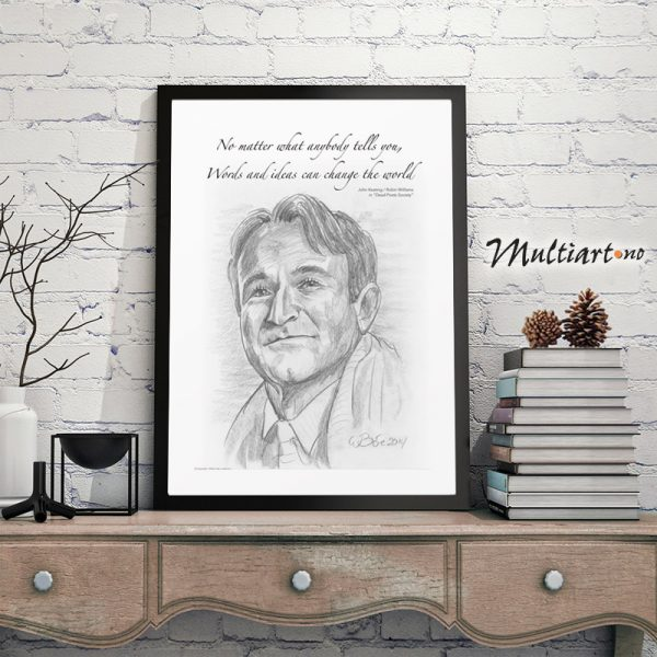Robin Williams – Dead Poets Society, poster plakat