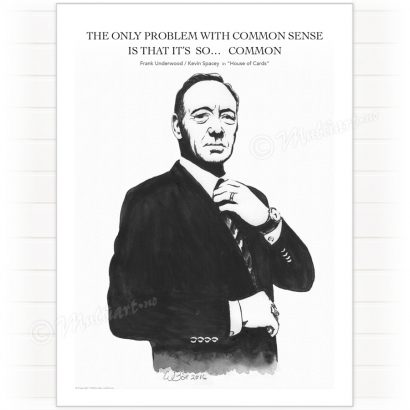 Poster, Frank Underwood - House of Cards