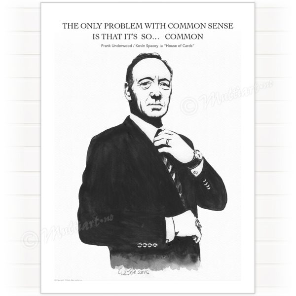 Poster, Frank Underwood – House of Cards