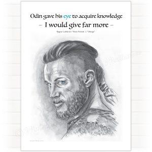 Poster, Ragnar Lodbrok - Vikings
