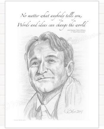 Poster, Robin Williams