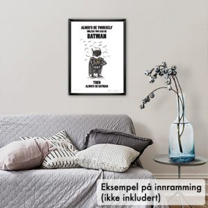 Poster, Batman Mini