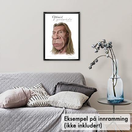 Poster, Jahn Teigen karikatur